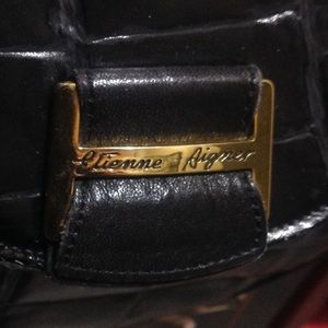 FREE W/ $25 purchase. Vintage black handbag